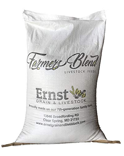 Homestead Harvest Ernst Grain Bird & Wildlife Feed, Non-GMO - Perfect Feed for Deer, Ducks, Squirrels, Turkeys, Rabbits, Geese, and More! (50 lb)