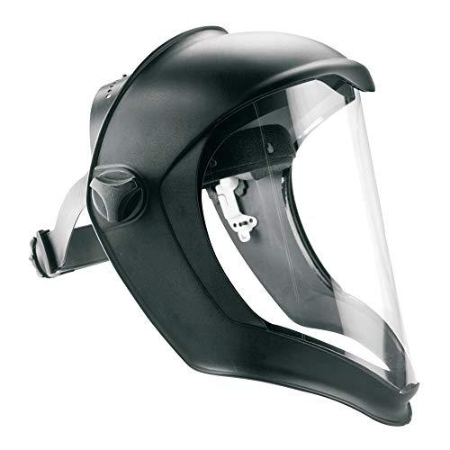 Honeywell 1011623 Escudo facial biocónico con lente transparente de pantalla de policarbonato sin recubrimiento