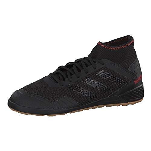Adidas Predator 19.3 IN, Botas de fútbol para Hombre, Multicolor (Negbás/Negbás/Rojact 000), 48 EU