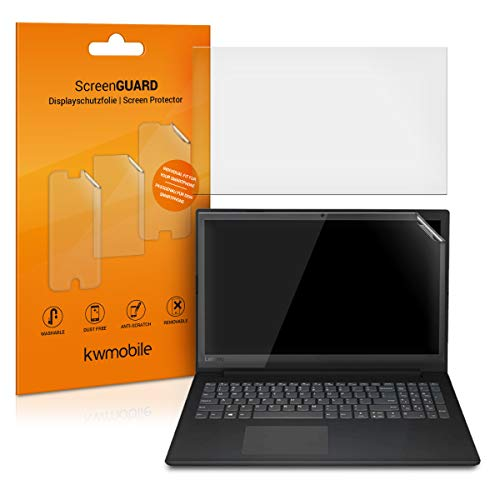 kwmobile Set de 2X láminas Protectoras Compatible con Lenovo V145 (15