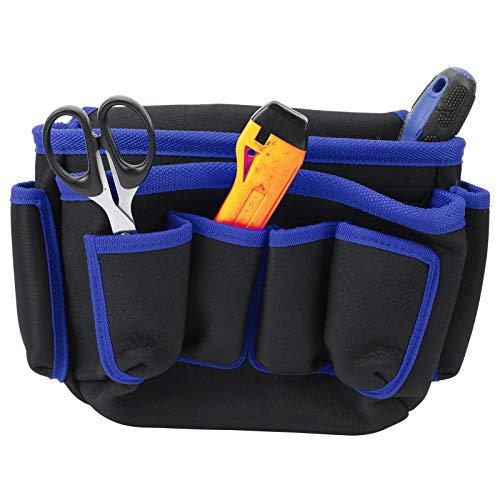 Bolsa de almacenamiento de herramientas bBag de electricista duradera, para fontanero, para acampar(Blue edge)