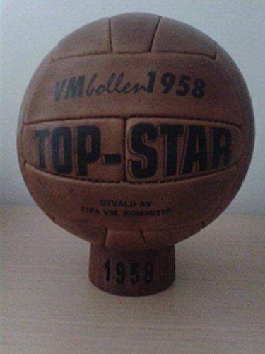 Balon Oficial Futbol del Mundial DE Suecia 1958. Modelo...