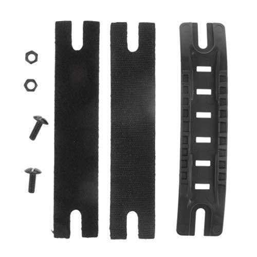 sharprepublic Robusto Kit de Guía de Riel Lateral para Casco Rápido para - Negro