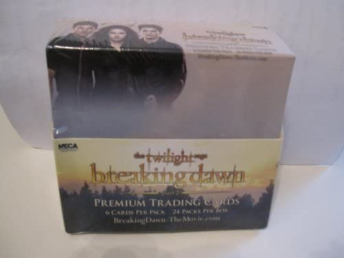 Twilight Saga Breaking Dawn Cheap mail order specialty store Part Trading 2 Card In stock Box