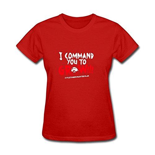 Women's CT FLETCHER I Command you to Short Sleeve T-Shirt