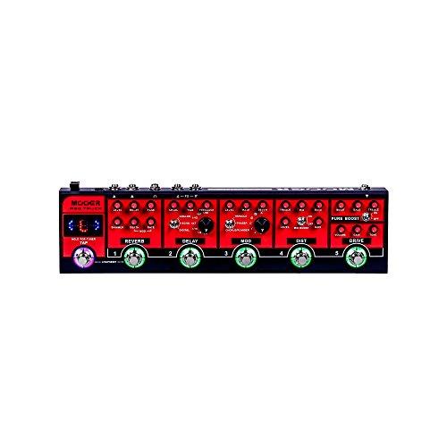 Mooer Red Truck Pedaliera Multieffetto per Chitarra