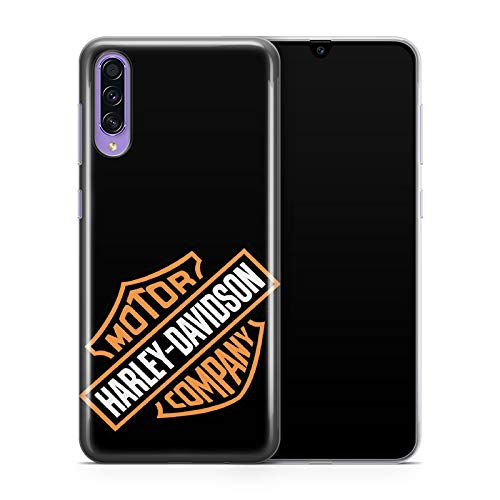 Super FABRIQUE - Cover per Samsung Harley Davidson Logo (A10-M10/A20-A30/A50-A30S/A9 2018/M20/S10 5G/A6plus/S8 Plus) stampata in Francia (A50/A30S)