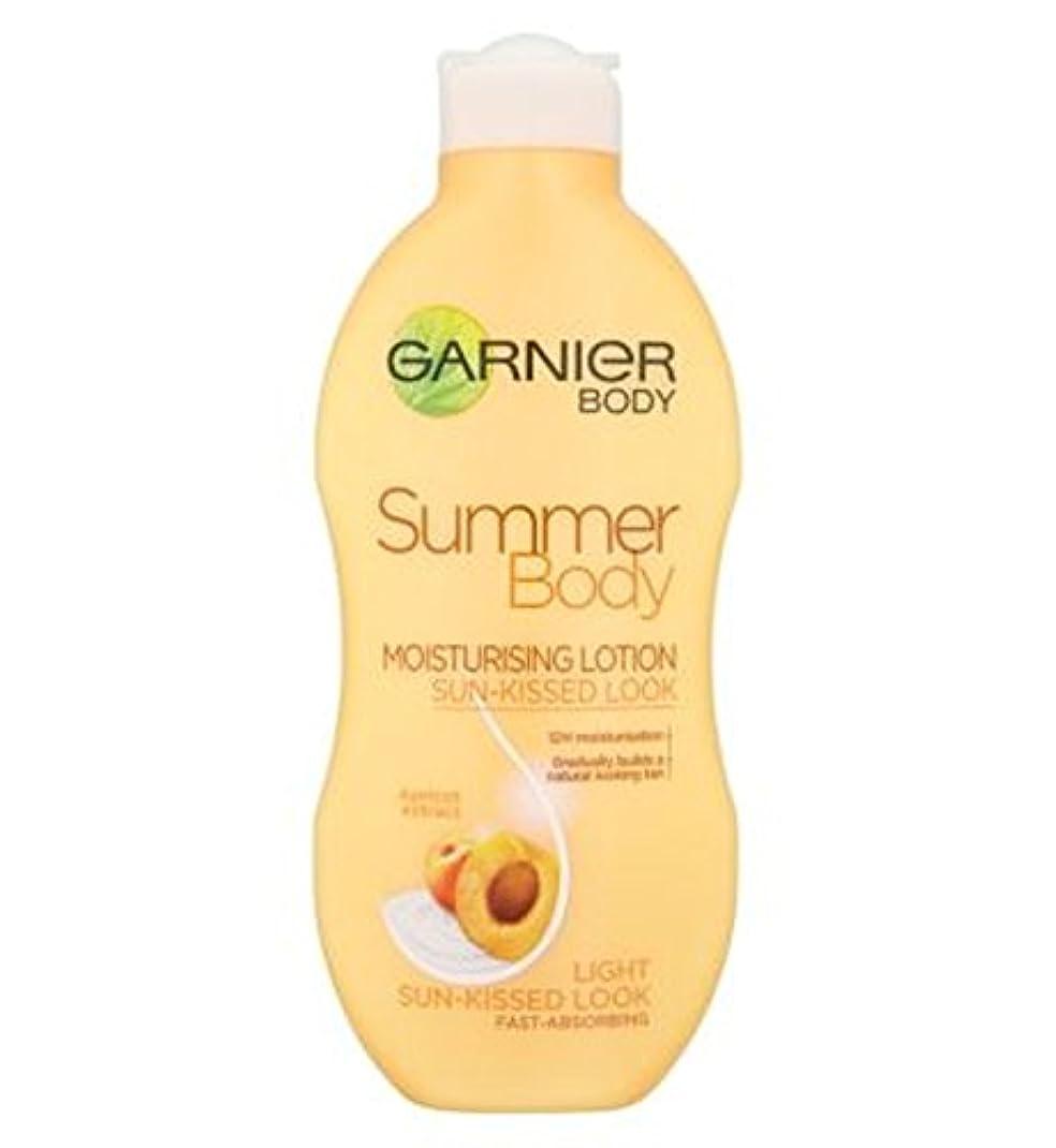 百内向きジョブガルニエの夏のボディローションライト日、キスをした250ミリリットル (Garnier) (x2) - Garnier Summer Body Lotion Light Sun-Kissed 250ml (Pack of 2) [並行輸入品]