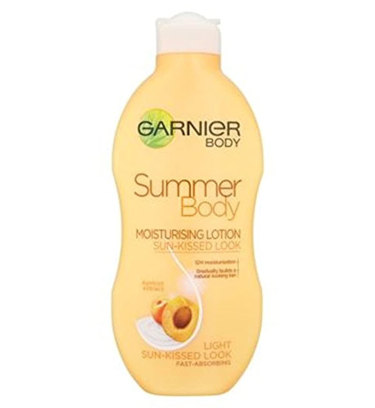 自分の雪自動車ガルニエの夏のボディローションライト日、キスをした250ミリリットル (Garnier) (x2) - Garnier Summer Body Lotion Light Sun-Kissed 250ml (Pack of 2) [並行輸入品]
