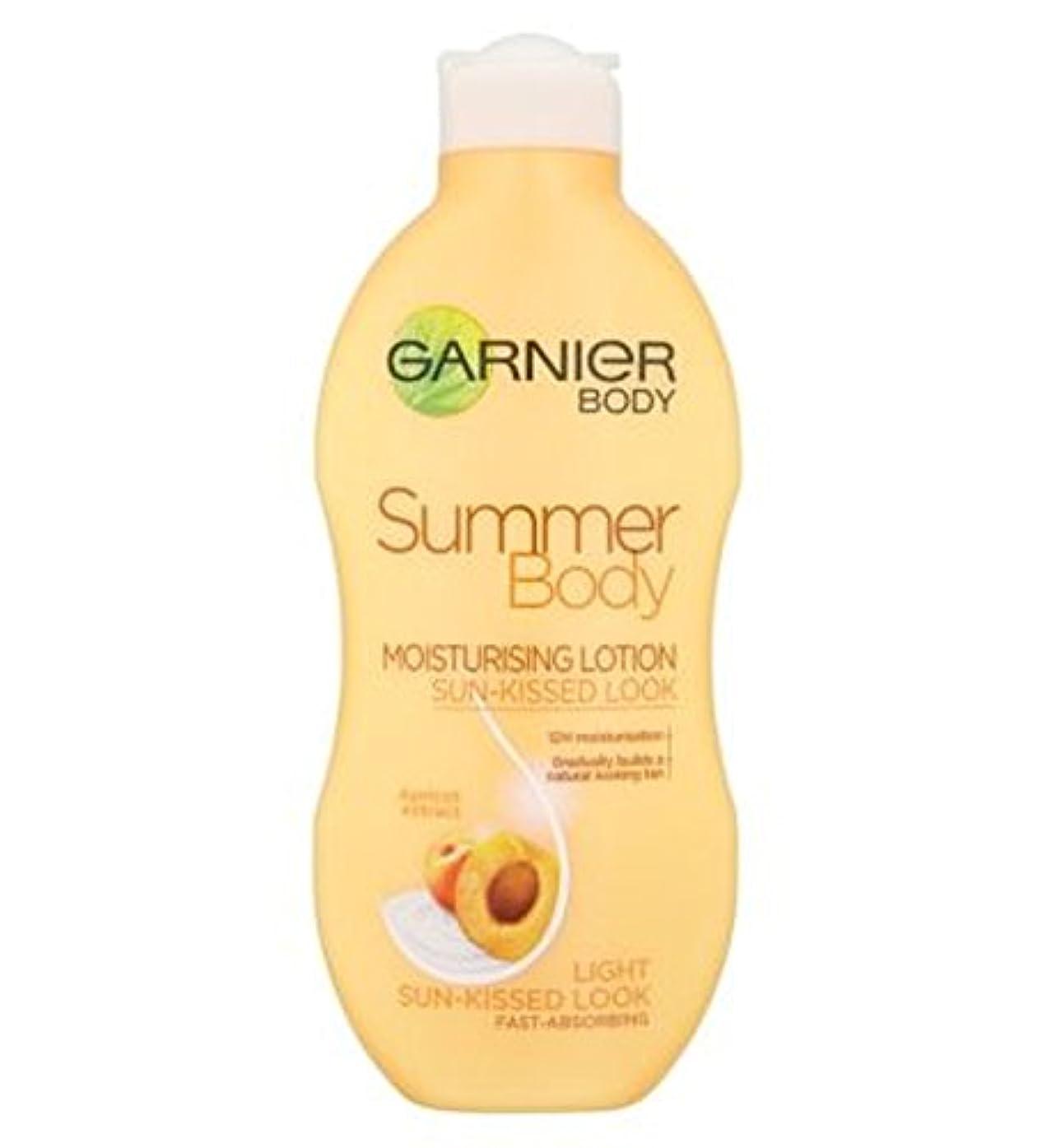 つぶやき設置空港Garnier Summer Body Lotion Light Sun-Kissed 250ml - ガルニエの夏のボディローションライト日、キスをした250ミリリットル (Garnier) [並行輸入品]