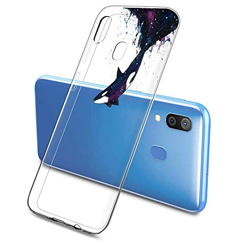Suhctup - Carcasa para Samsung Galaxy J1 Ace / J110, carcasa Galaxy J1 Ace transparente con dibujos animados, funda gel transparente suave silicona fina TPU Case [Ultra ligera y clara]