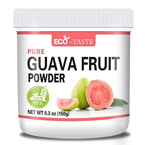 Pure Guava Fruit Powder, 5.3oz, 100% Pure, No Gmo, No Fillers, Vegan Friendly