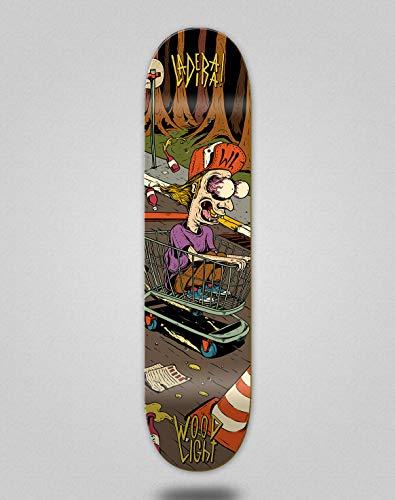 skateboard 8.5 Wood light Monopatín Skate Skateboard Deck Tabla Ladeira Brigton (8.5)