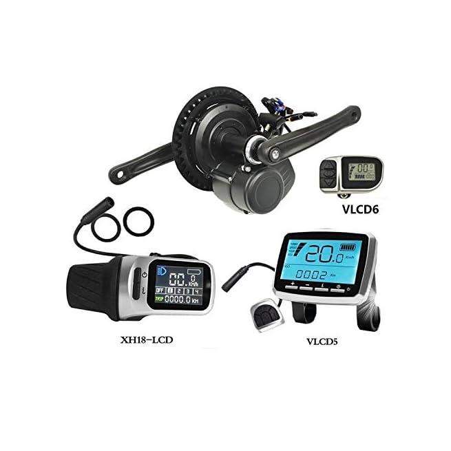 Pswpower 36v 250w 350w Tsdz2 Bicicletta Elettrica Centrale Motore Centrale Con Sensore Di Coppia E Display Lcd Vlcd5 Xh Benessere Vita Salute