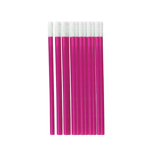 Pinceau jetable Marque Rouge à lèvres Lip Gloss Wands Applicateur outil de maquillage outil de beauté Kits Rose Rouge 10 Pack