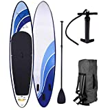 SUP Board Stand up Paddle Paddling Surfboard 3 Modelle 300-365cm aufblasbar Alu-Paddel Hochdruck-Pumpe