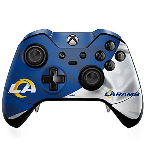 Skinit Decal Gaming Skin Compatible with Xbox One Elite Controller - Officially Licensed NFL Los Angeles Rams Flag Design