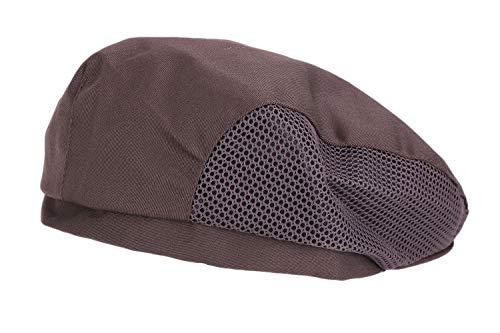 JIAHG Damen Herren Kochmütze Baskenmütze Mesh Kochen Bäcker Mütze Hut Cap Kappe Schiebemütze Koch Arbeitskleidung chef hat - 4