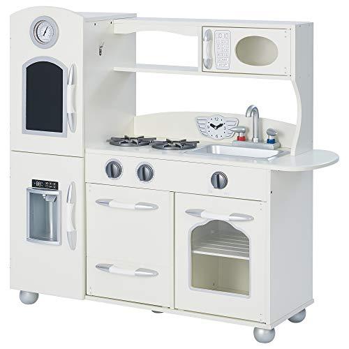 Teamson Kids Cucina Giochi Legno per Bambini - Frigorifero E Forno TD-11414W