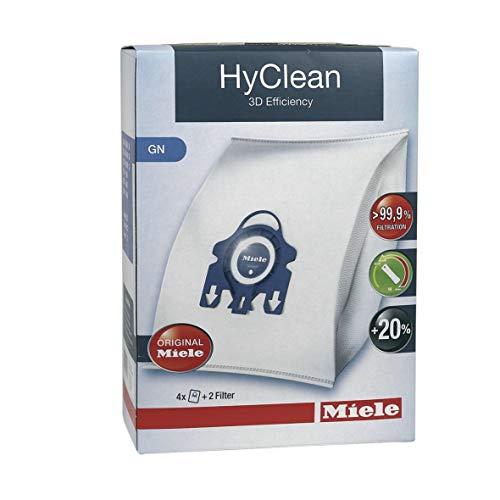 4x Filterbeutel Staubbeutel HyClean Typ G/N Staubsauger ORIGINAL Miele 9917730
