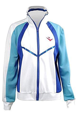 Free! Iwatobi Swim Club Haruka Nanase Cosplay Kostüm Unisex Iwatobi High School Uniform Jacke Gr. X-Small, weiß