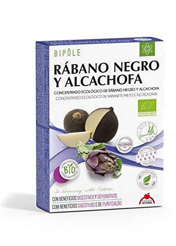 Bipole Rábano Negro y Alcachofa 20 ampollas de Intersa