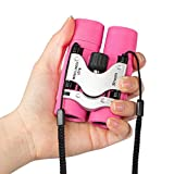 Best Binoculars For Kids - Kids Binoculars, Mini Compact Small Pocket Binoculars Review