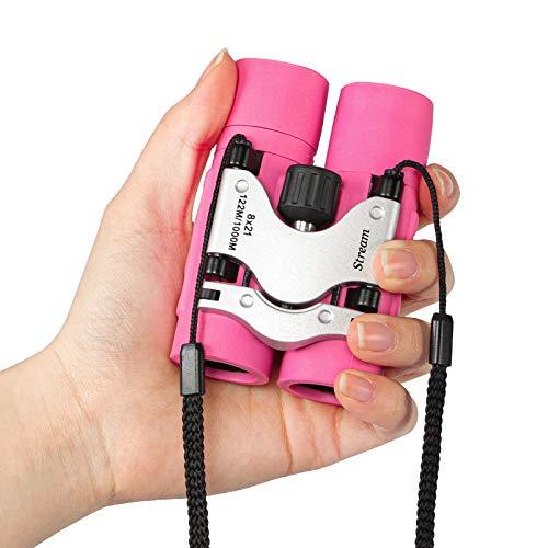 Kids Binoculars, Shockproof Mini Pocket Folding Compact...