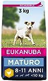 Eukanuba Alimento Secco per Cani Maturi di Piccola Taglia, Ricco di Pollo Fresco 3 kg