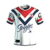 CRBsports Sydney Roosters, Edition Anglaise, Maillot De Rugby, Nouveau Tissu Brodé, Swag Sportswear (Blanc, S)