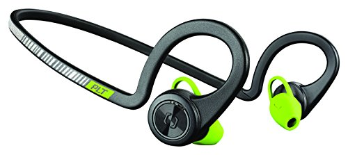 Plantronics BackBeat Fit - Auriculares deportivos inalámbricos, color negro