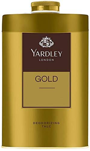 Yardley London Gold Talco en polvo - 250 g 800 oz, Desodorante Talco
