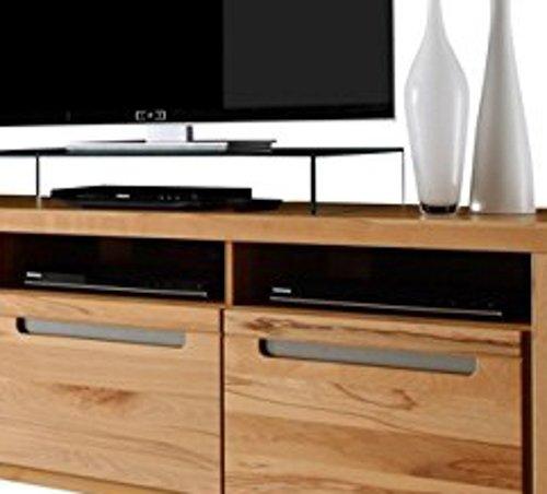trendteam ZO32065 TV Möbel Lowboard, BxHxT 178 x 59 x 50 cm, Korpus Kernbuche Nachbildung und Fronten in Kernbuche massiv - 5