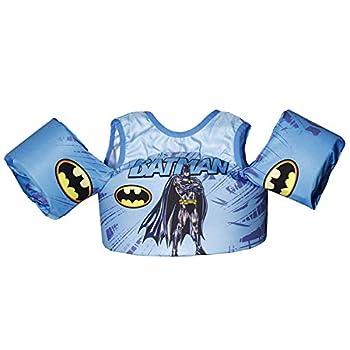 LeaveL Kids  Swim Floaties for Toddlers Toddler Swim Vest 30-55 lbs  New-Batman