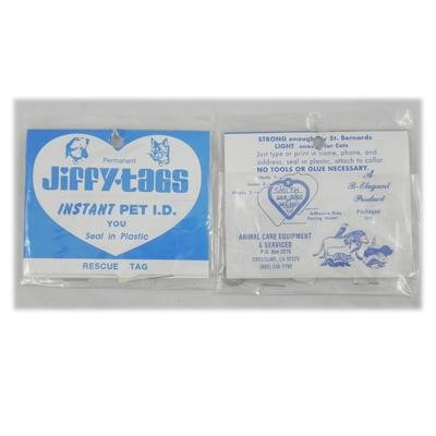 Jiffy Instant Pet I.D.Tag 24 pack