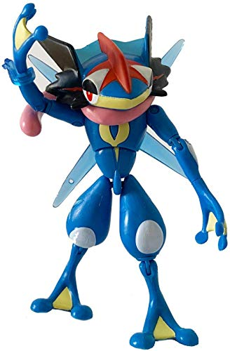 NAE Pokémon Acción Pose Pocket Monster Monster Collection MonColle Edición Mejorada MS-08 Ash-Greninja Figure