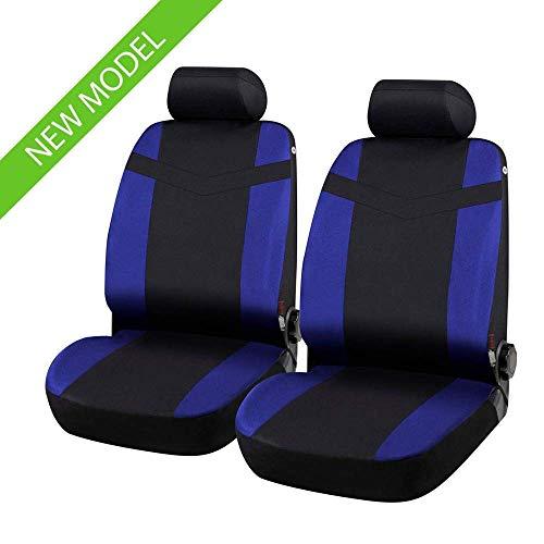 rmg-distribuzione Fundas de asiento compatibles con Ibiza (1993 – 2006) compatibles con asientos con airbag, reposabrazos lateral, R42S0757
