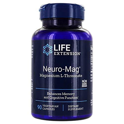 Life Extension - Magnesio L-Threonate de Neuro-Mag - 90cápsulas vegetarianas