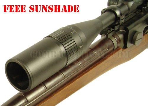 M14 M1A Mount 10-40x50 Rangefinder Rifle scope combo set Free sunshade