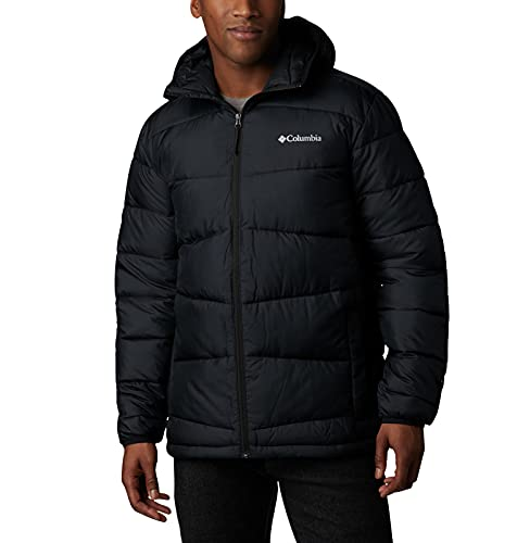 Columbia Men's Fivemile Butte Hooded Jacket, Black, Large