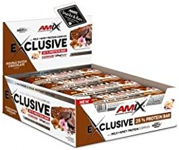 Amix Exclusive Protein Bar 24 x 40 g Double Chocolate 0 21 g Estimated Price : £ 26,70