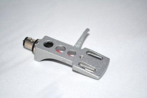 Silver Headshell kassettfäste med guldkontakter för Pioneer PL550, PL10, PL510, PL71, PL400, PL100, PL112D, PL117D, PL15R, PL514, PL115D Tonearmar