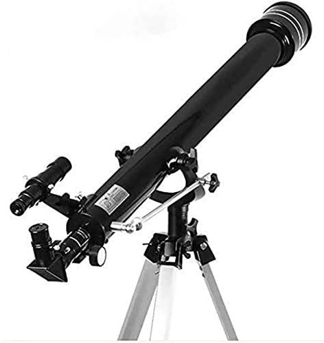 LFERRTYZ Telescopio Telescopio, Refractores 675X Zoom Espacio Monocular para Exteriores Trípode portátil Rango de detección 900 / 60M Ideal para Principiantes