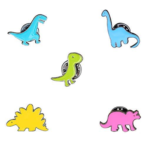 Broschennadeln, unisex, niedlicher Dinosaurier-Anhänger, Anstecknadel, Schmuck, Dekoration für Kleidung