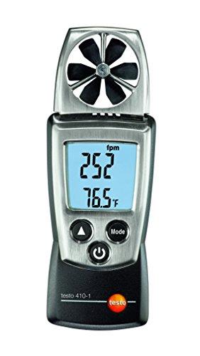 Testo 0560 4101 410-1 - Anemómetro digital con NTC integrado (con tapa...