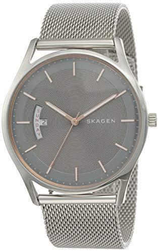 Skagen Herren Quarz Uhr mit Edelstahl Armband SKW6396
