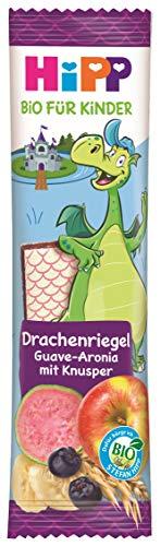 Hipp Kindernahrung Kinder Bio Knabberprodukte Drachenriegel, 18er Pack (18 x 30 g)