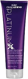 RUSK Deepshine PlatinumX Repair Treatment, 8.5 oz.