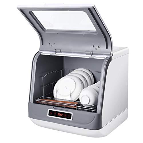 Armarios esterilizantes Lavavajillas Completamente Automático Lavavajillas De Sobremesa Pequeño Para El Hogar No Es Necesario Instalar Un Lavavajillas Independiente 3 Programas De Limpieza Inteligente