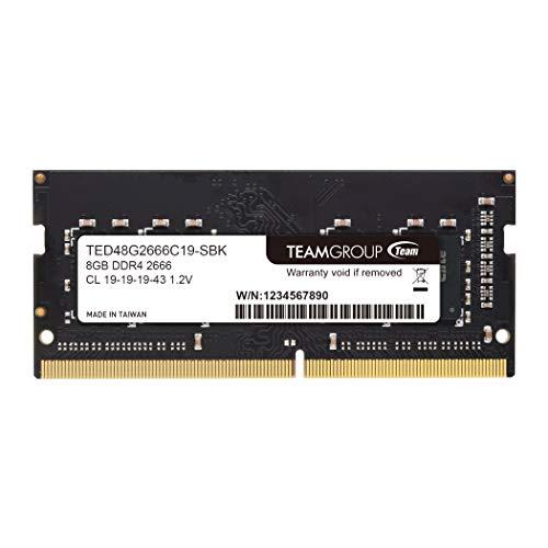 Team ノートPC用 SO-DIMM DDR4 2666MHz PC4-21300 8GB 無期限保証